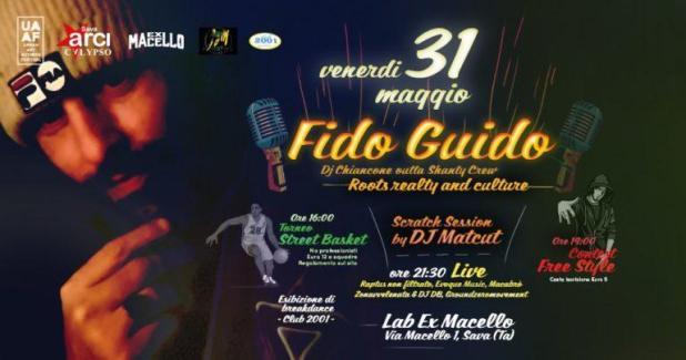 URBAN ART ACTIONS Festival 2019 & Fido Guido live