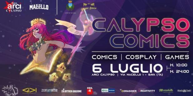 """A Sava il 6 luglio prima edizione di """"Calypso Comics"""""""