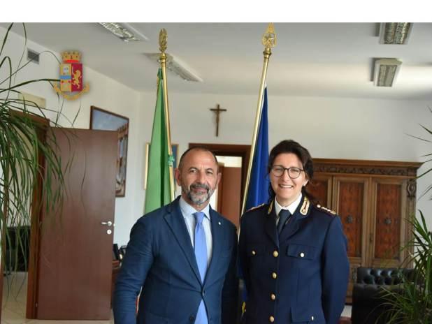 Questura di Taranto. Insediato il nuovo Dirigente della Divisione Anticrimine