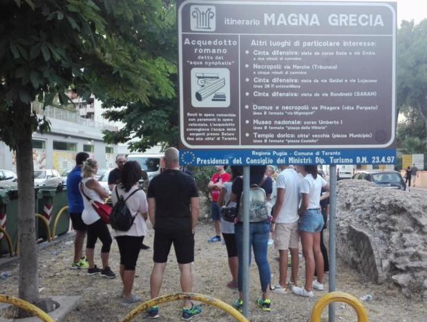 Le meraviglie di Taranto in bicicletta, torna Archeo Bike Tour
