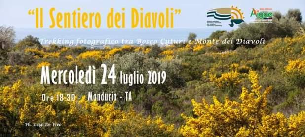 Il Sentiero dei Diavoli, Trekking fotografico tra Bosco Cuturi e Monte dei Diavoli