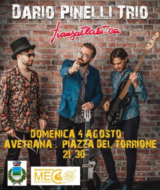 Dario Pinelli Trio - Transatlantica Tour, Avetrana domenica 4 agosto