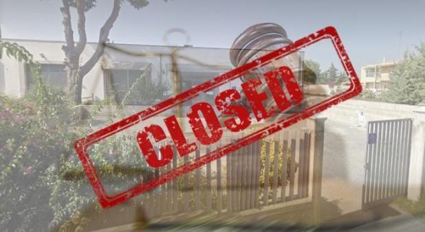 Manduria : chiude l'Ufficio del Giudice di Pace