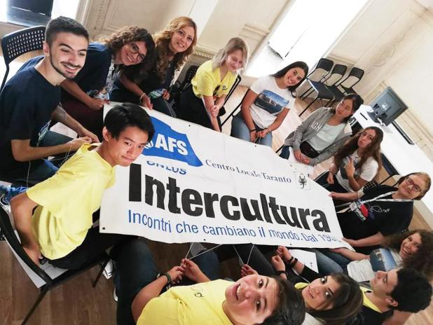 """A Taranto con AFS Intercultura """"Abitiamo il Villaggio globale"""""""