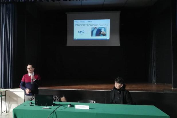 Progetto «Need for SPID»: il primo appuntamento al De Sanctis-Galilei di Manduria