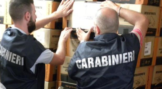 Manduria: sequestrate dai Carabinieri Forestali due tonnellate di buste in plastica illegali