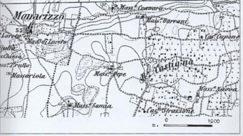 RITROVAMENTI E ANTICHE PRESENZE IN ALCUNE CONTRADE IN AGRO DI MARUGGIO ( VEGLIA, CASTIGNO, OLIVARO, ECC.)