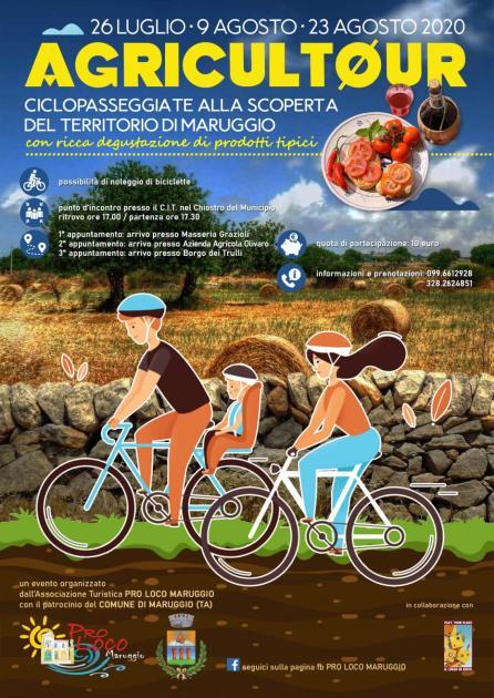 AGRICULTOUR, ciclopasseggiate alla scoperta del territorio di Maruggio