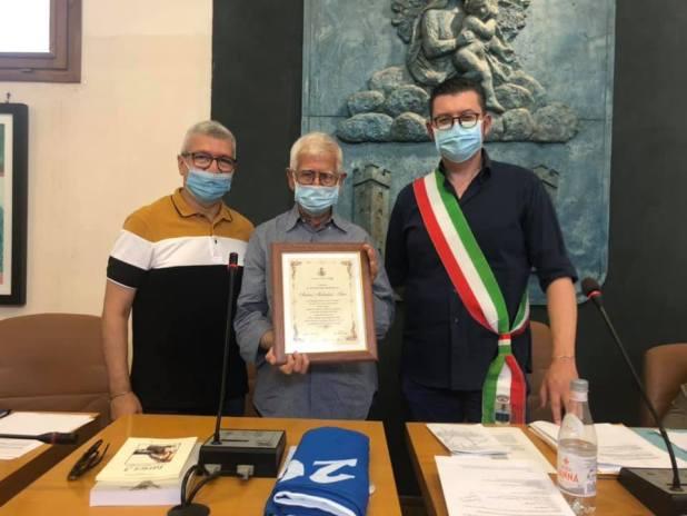 Antonio Molendini è Cittadino Onorario di Maruggio