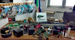 Bracconaggio nel territorio tarantino: scattano i controlli dei Carabinieri Forestali