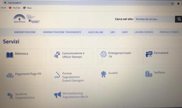 Presentato il nuovo sito internet di Arpa Puglia
