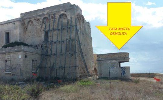 Maruggio. Parte l'esposto sulla presunta demolizione della casamatta di Torre dell'Ovo