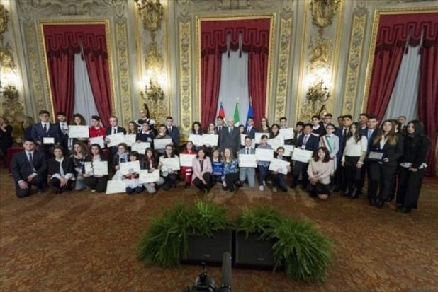 Il Presidente della Repubblica, Sergio Mattarella, conferisce attestati Alfiere della Repubblica a 3 giovani pugliesi