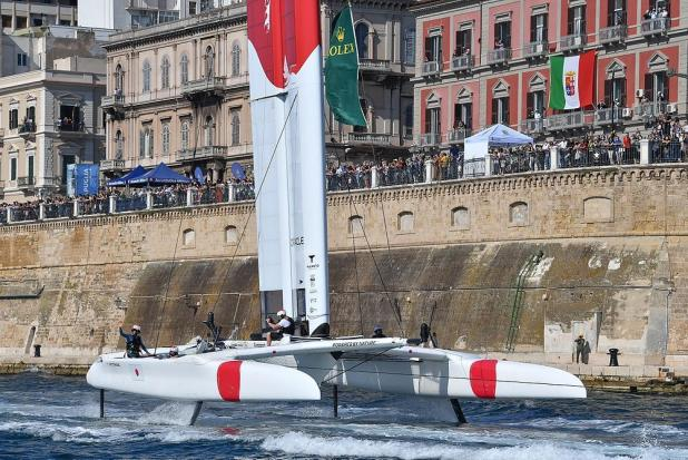 Italy Sail Grand Prix: Japan SailGP Team con Checco Bruni a bordo vince a Taranto davanti a Spagna e USA