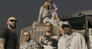 Parte dal video di 'Mohicani', il nuovo singolo dei Boomdabash e Baby K