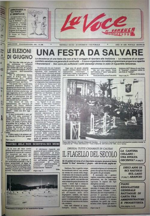 ANTEPRIMA N.298 Maggio 1991