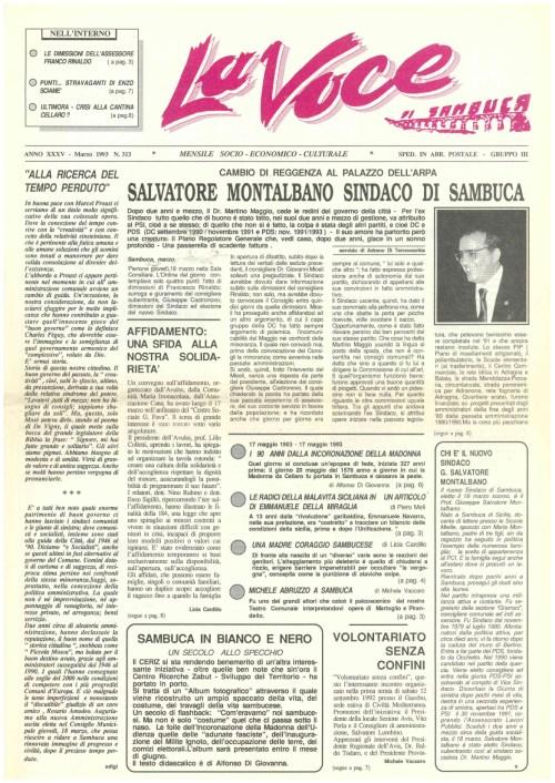 ANTEPRIMA N.313 Marzo 1993