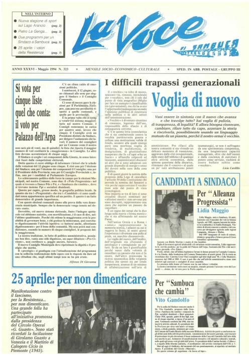 ANTEPRIMA N.323 Maggio 1994