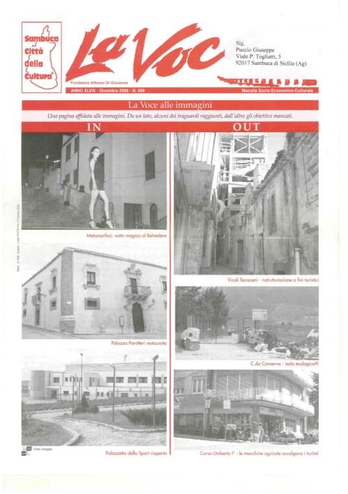ANTEPRIMA N.409 Dicembre 2006