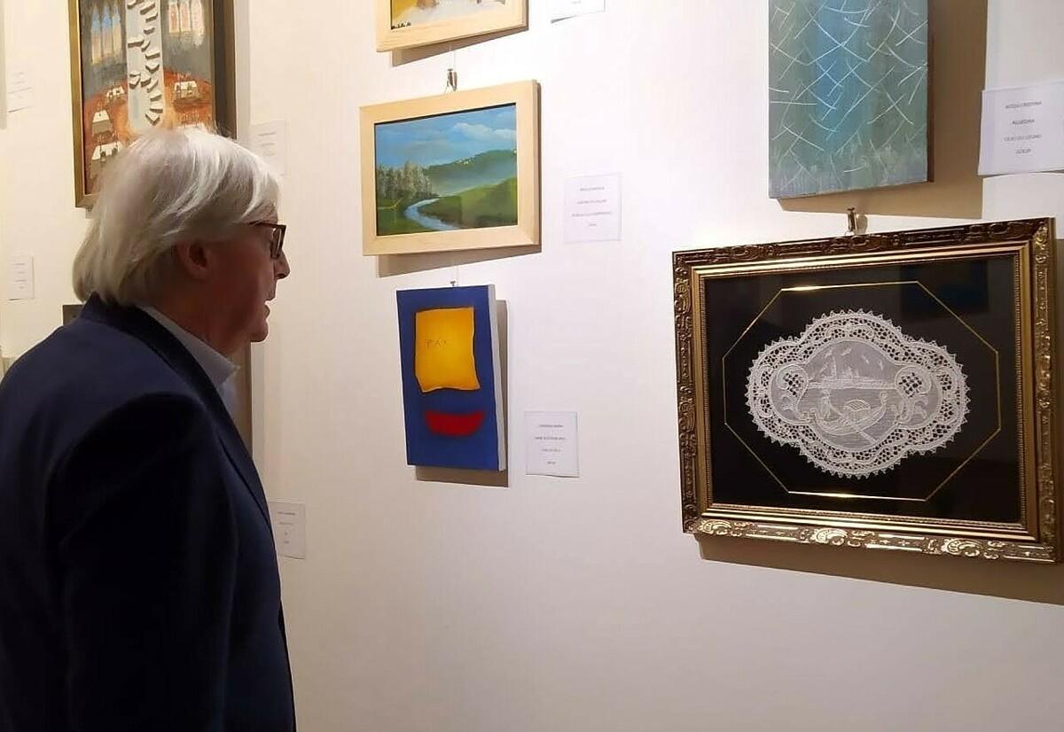 Sgarbi Vittorio ospite d'eccezione alla Galleria d'arte Elle di Preganziol