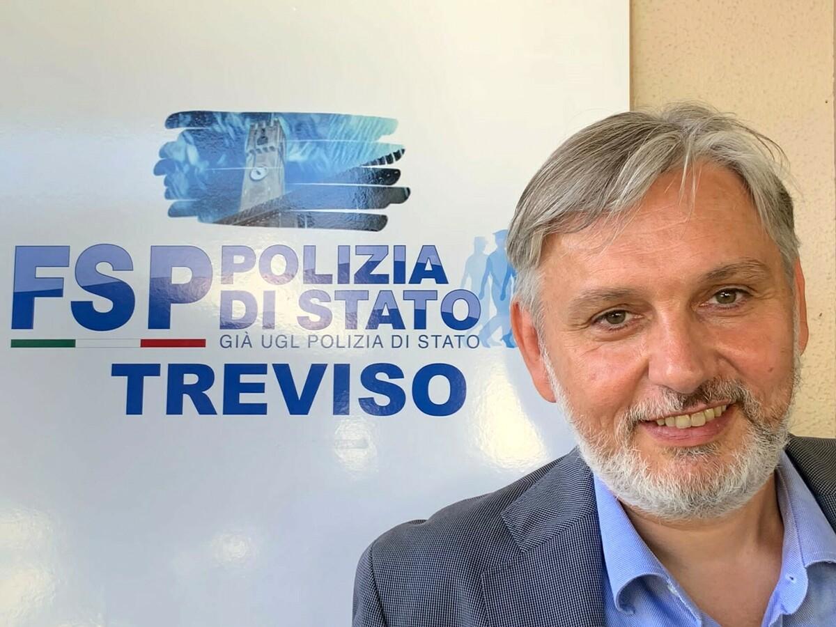 FSP Polizia di Stato Treviso: Willy Garbuio riconfermato Segretario Generale Provinciale