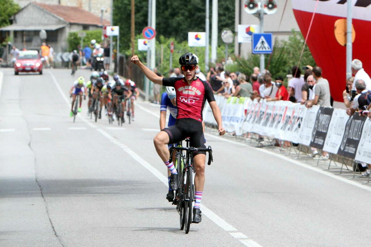 Festa per due al Piva Junior Day di Col San Martino: vincono Andreaus (allievi) e Dal Cappello (juniores)