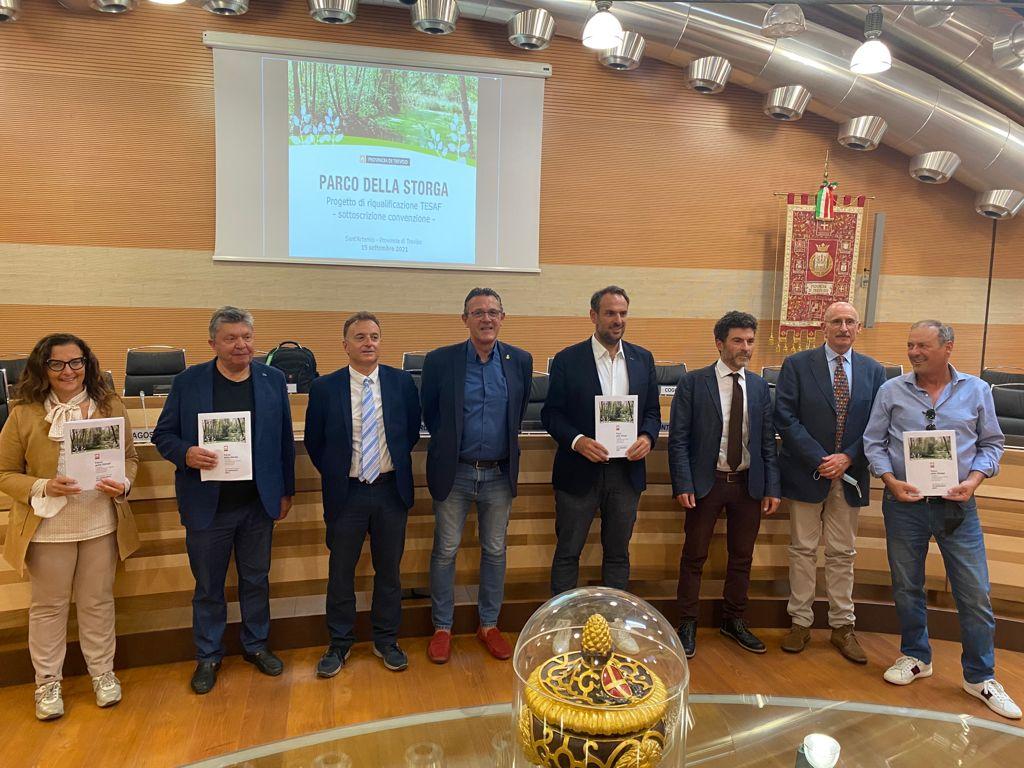 Bosco della Storga: Firmata Oggi la Convenzione tra Provincia e TESAF Università di Padova per il progetto di tutela, valorizzazione e riqualificazione
