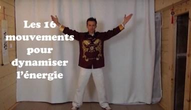 les 16 mouvements