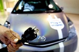 Voiture hybride plug-in