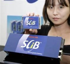 SCiB batterie de Toshiba