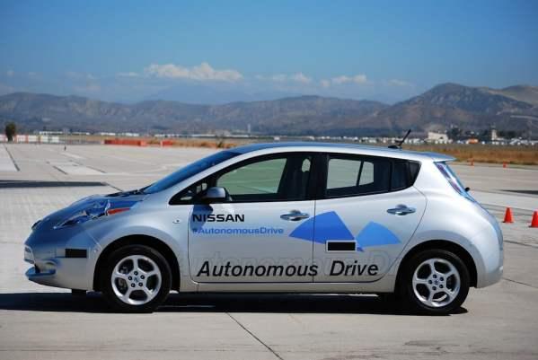 Voiture autonome Nissan