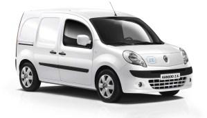 Renault Kangoo ZE : voiture électrique de l'année selon la GreenFleet Award