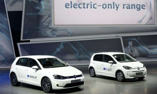 VW e-Golf et e-Up