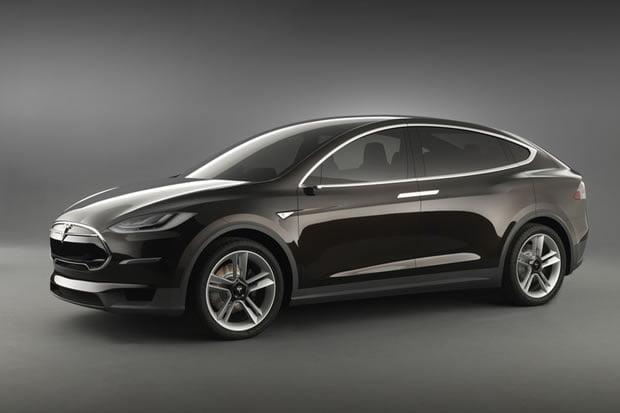 Le prototype de la Tesla modèle X