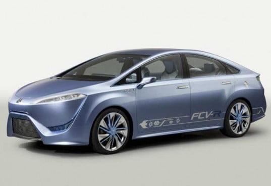 La Toyota FCV-R à l'hydrogène