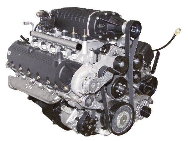 Ford 6.8-liter V-10 Hydrogen Engine