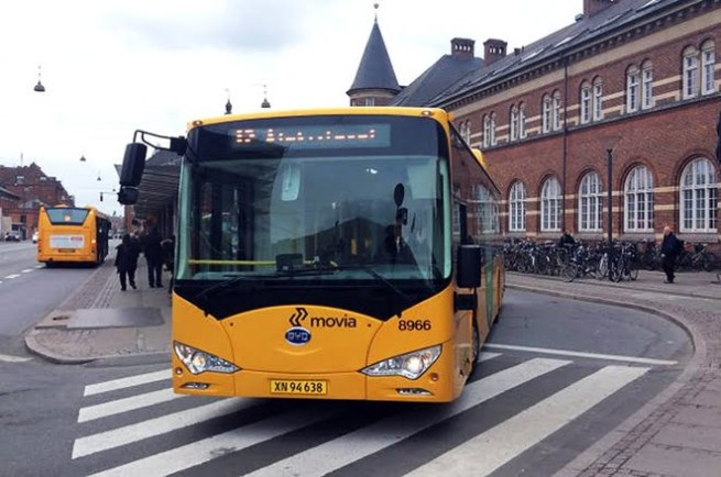 byd electric bus copenhague