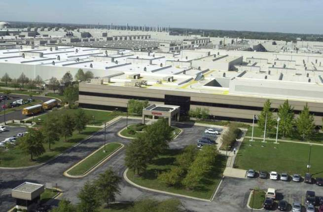usine toyota hybride kentucky