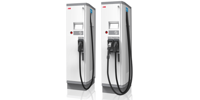 chargeur rapide multistandard ABB