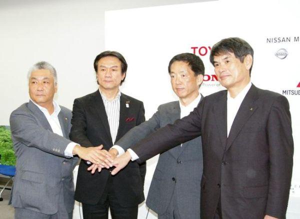 toyota-nissan-honda-mitsubishi-joint-venture