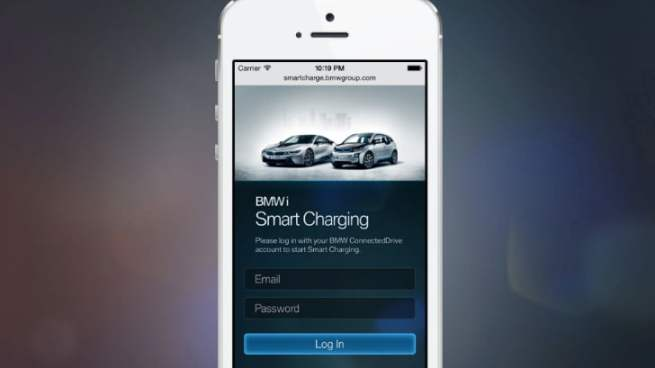 bmw i3 smart charging application