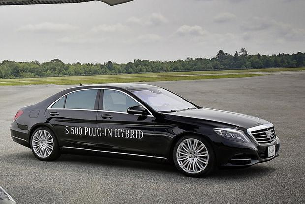 mercedes-benz S500 hybride rechargeable