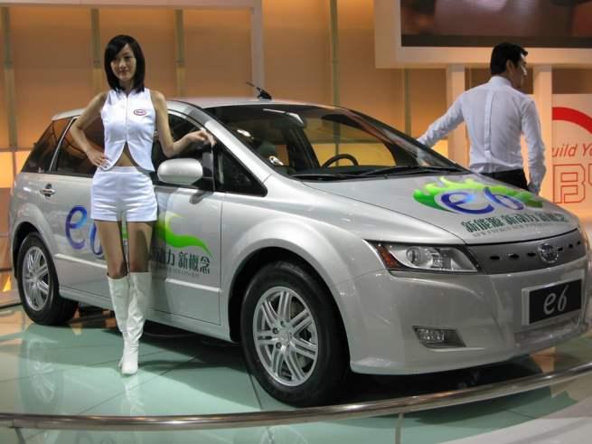 voiture électrique chinoise BYD E6