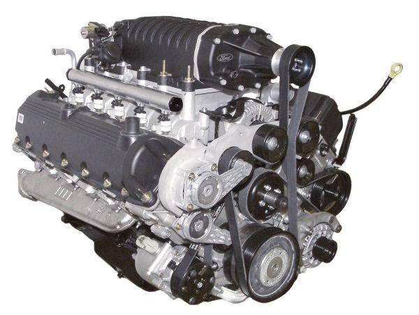 Ford 6.8-liter V-10 Hydrogen Engine