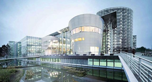 Le siège du groupe Volkswagen à Wolfsburg.