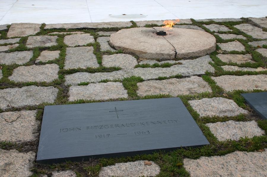 la tombe de JFK