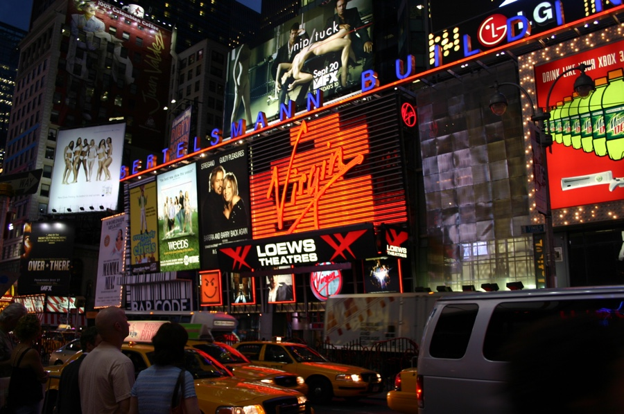 times square-2005