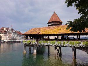 Le pont des chapelles - Lucerne