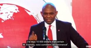 Le  philanthrope Tony Elumelu aux côtés de 1 000 entrepreneurs africains dont 390 femmes et 21 Camerounais