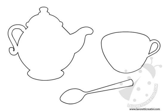 Sagome oggetti da cucina - 2